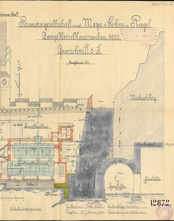 Dampfkesselanlage der Bierbrauerei Wilhelm Mayer, später Mayer & Söhne, Bild 3