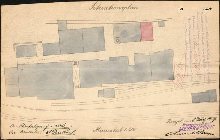 Bierbrauerei Wilhelm Mayer, später Mayer & Söhne, Bild 3