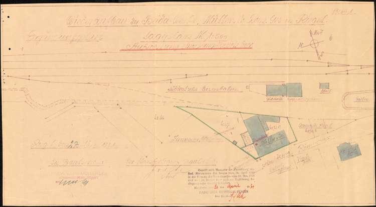Aufstellung eines Dampfkessels durch die Firma Heida-Werke Müller & Co., Bild 2