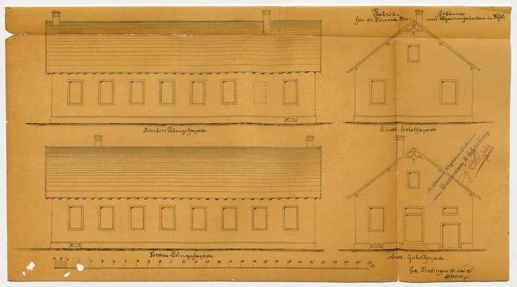 Bau und Betrieb einer Zigarrenfabrik in Wyhl durch die Firma Bremer Zigarrenfabrik, vormals Biermann & Schörlin, Bild 2