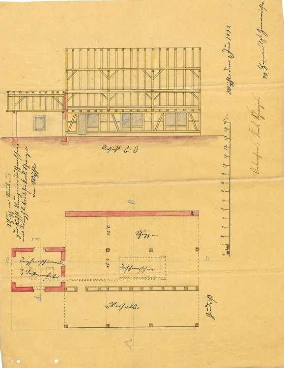 Dreschmaschinenanlage des Karl Schweizer in Wyhl, Bild 3