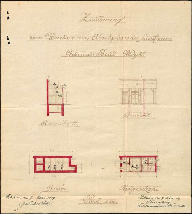 Errichtung einer Zigarrenfabrik in Wyhl durch die Gebrüder Brill aus Bilstein/Westfalen, Bild 3
