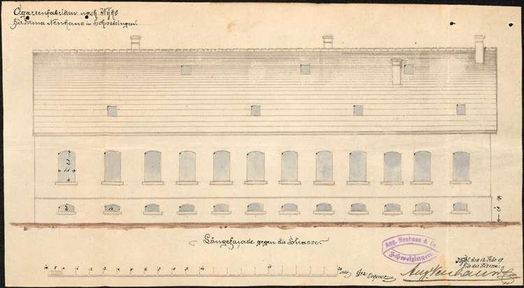 Errichtung einer Zigarrenfabrik in Wyhl durch August Neuhaus aus Schwetzingen, Bild 3