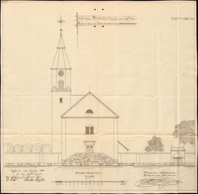 Kirchenrestaurierung in Wyhl, Bild 2