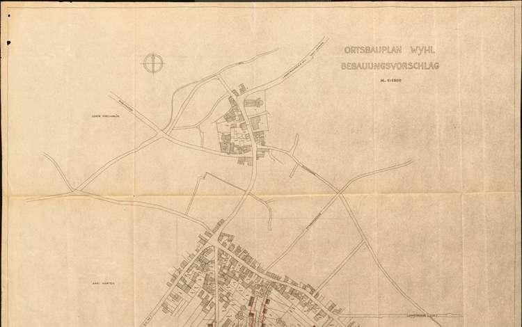 Ortserweiterungsplan für Whyl, Bild 2