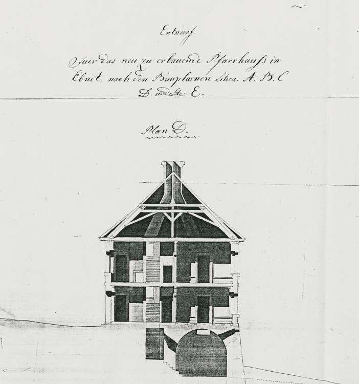 Baupflicht zum Kirchengebäude und zum Pfarr-, Schul- und Mesnerhaus, Bild 2