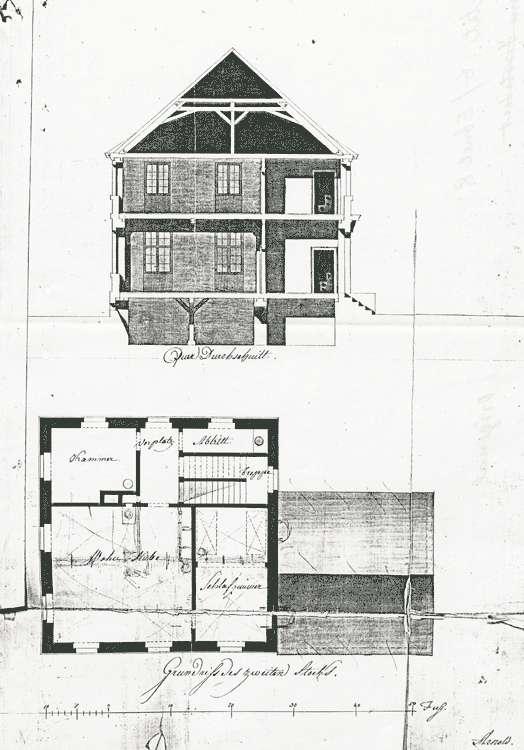Erbauung und Unterhaltung des Schul-und Mesnerhauses, Bild 3