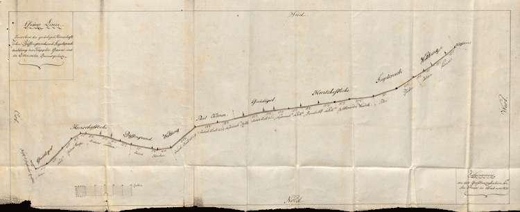 Waldgrenzberichtigung zwischen der Herrschaft und den Gemeinden Kappel und Littenweiler, Bild 1