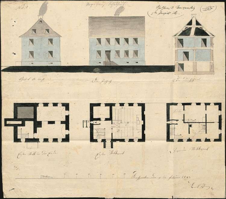 Erbauung und Unterhaltung des Schulhauses, Bild 2
