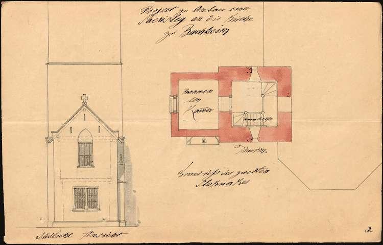 Erbauung und Unterhaltung der Kirche und diesbezügliche Verhandlungen, Bild 1