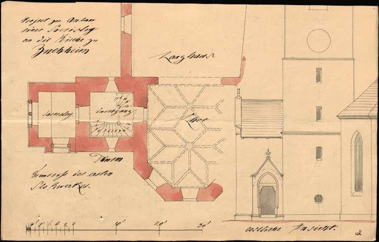 Erbauung und Unterhaltung der Kirche und diesbezügliche Verhandlungen, Bild 2