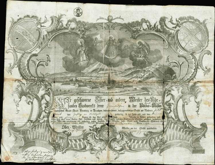 Ausmittelung des Heimatrechts für Joseph Steyert und den Zimmergesellen Jacob Steyert (oder Steigert, oder Steiert), angeblich aus Zastler, Bild 3