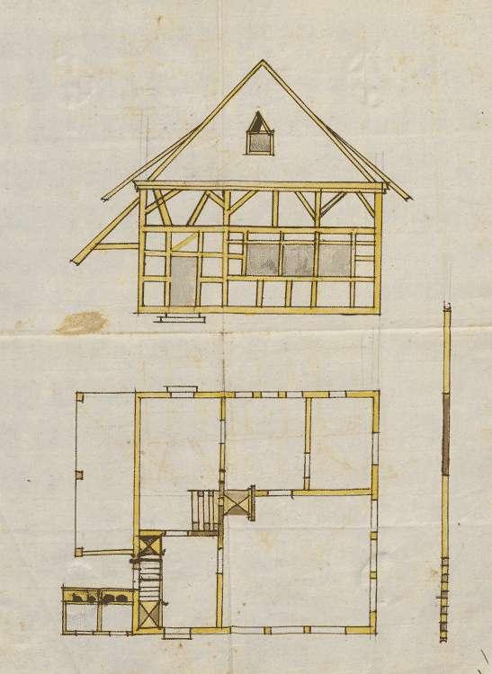 Erbauung und Unterhaltung des Schulhauses und die diesbezüglichen Anordnungen, Bild 1