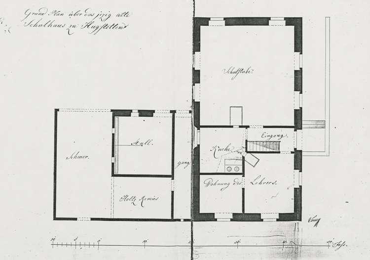 Erbauung eines Schulhauses und sämtliche diesbezüglichen Anordnungen, Bild 2