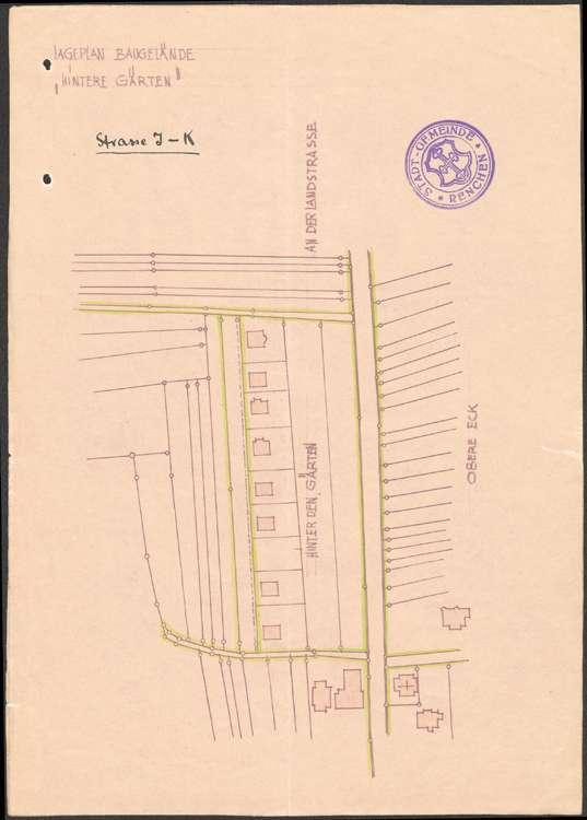 Entwicklung und Durchführung des Ortsbauplans der Gemeinde Renchen, Bild 1