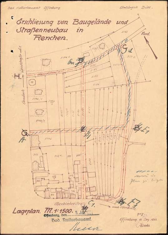 Entwicklung und Durchführung des Ortsbauplans der Gemeinde Renchen, Bild 2