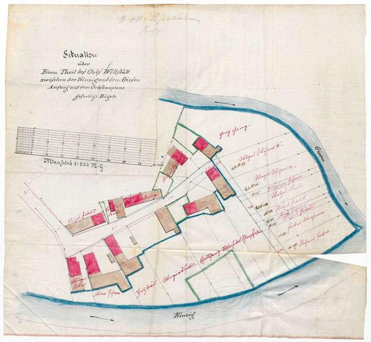 Aufstellung und Erweiterung eines Ortsbauplanes in Willstätt, Bild 1