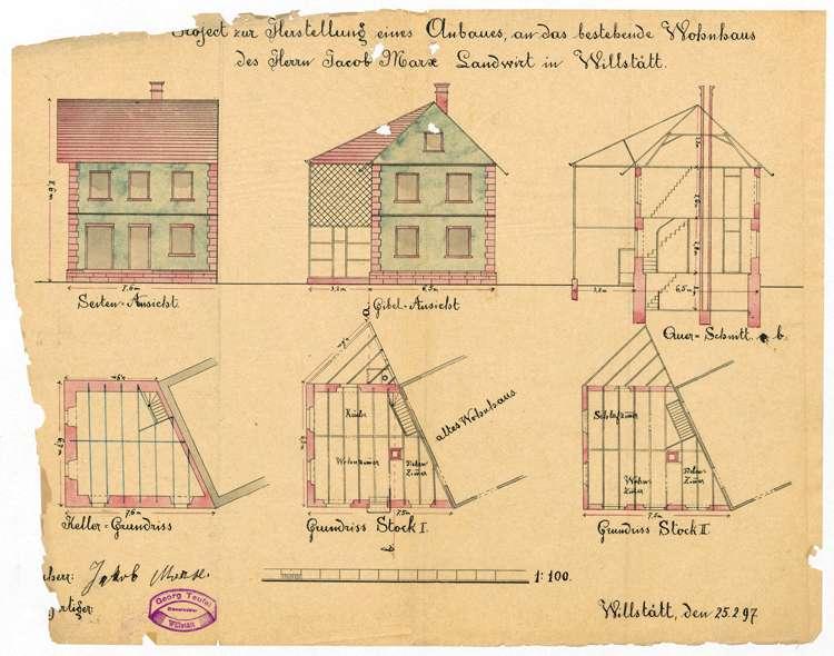 Aufstellung und Erweiterung eines Ortsbauplanes in Willstätt, Bild 3