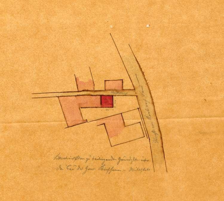 Errichtung einer Dampfmaschine in der Wollspinnerei des Ludwig Kirschmann in Willstätt, Bild 2