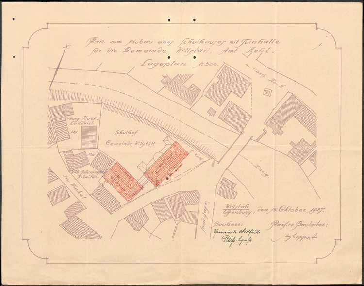 Bau eines Schulhauses mit Turnhalle in Willstätt, Bild 3