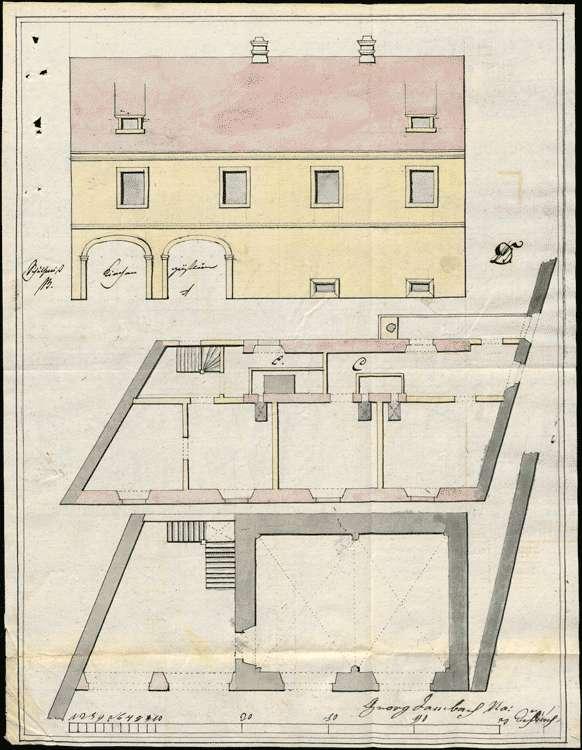Aufhebung der St. Martins-Pfarrei zu Endingen, Nutzung der Wohnung der Pfarrei, Bild 1