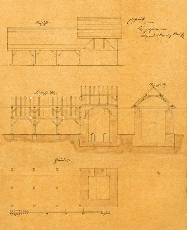 Bau einer Ziegelei in Endingen durch den Maurer Alexander Roßwog, Bild 1
