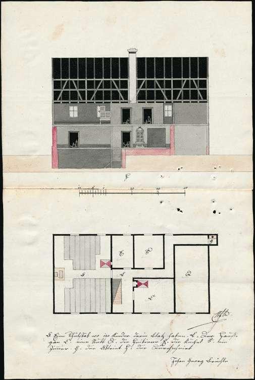 Neubau eines Schulhauses zu Hecklingen, Unterhaltung des Schulgebäudes, Bild 1