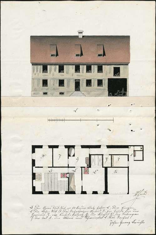 Neubau eines Schulhauses zu Hecklingen, Unterhaltung des Schulgebäudes, Bild 2
