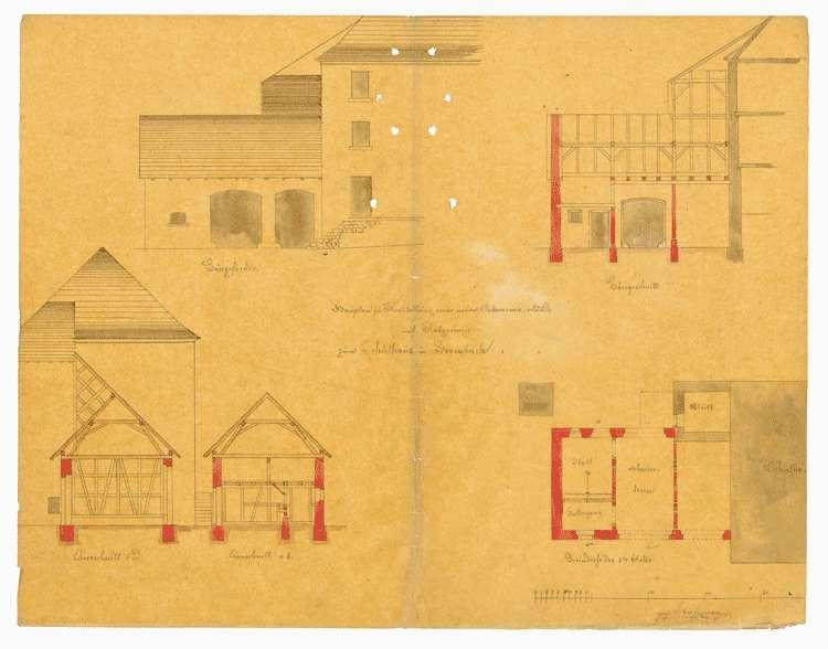 Lehrerwohnung im Schulhaus zu Bombach, Bild 1