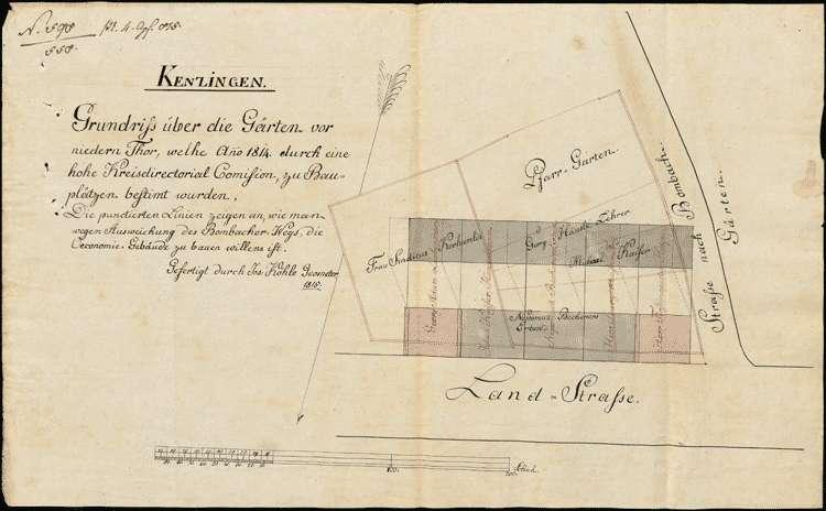 Stadterweiterungsplan für Kenzingen, Bild 1