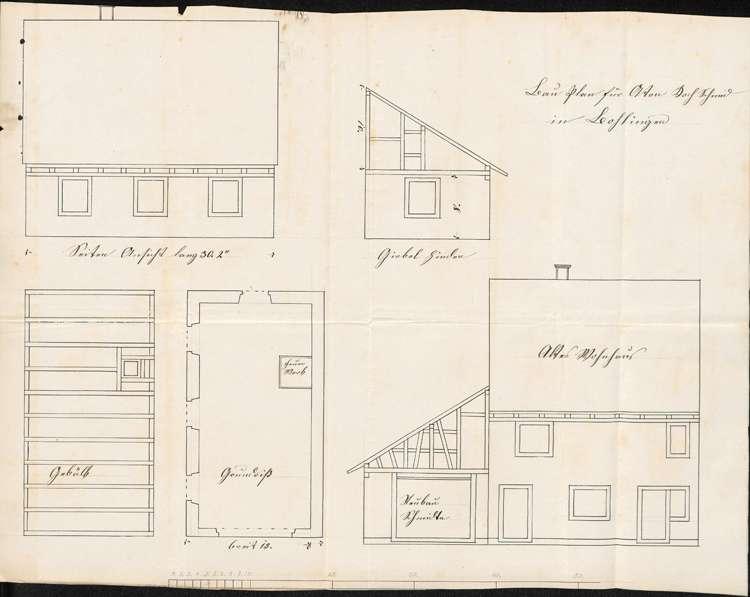 Bauvorhaben des Schmieds Anton Koch zu Bohlingen, Bild 2