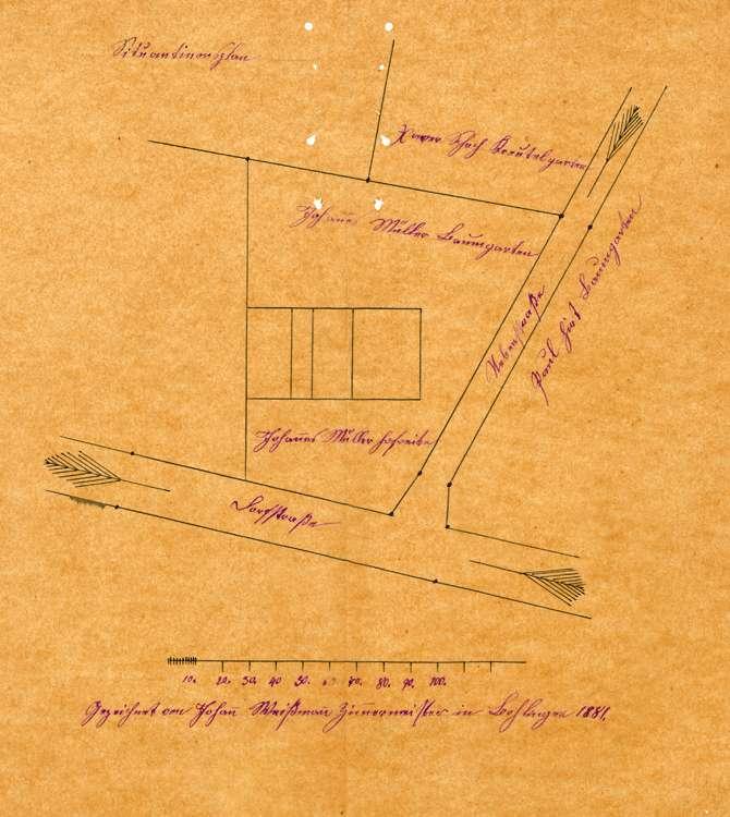 Bauvorhaben des Johann Müller zu Bohlingen, Bild 1