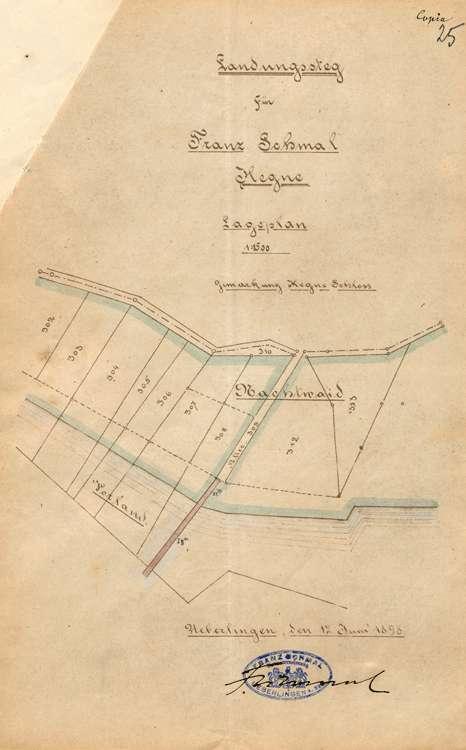 Erstellung eines Landestegs bei Hegne durch Bauunternehmer Franz Schmal in Radolfzell, Bild 2