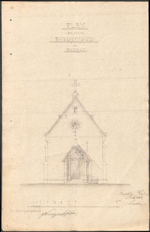 Bau einer Friedhofskapelle zu Singen am Hohentwiel, Bild 3