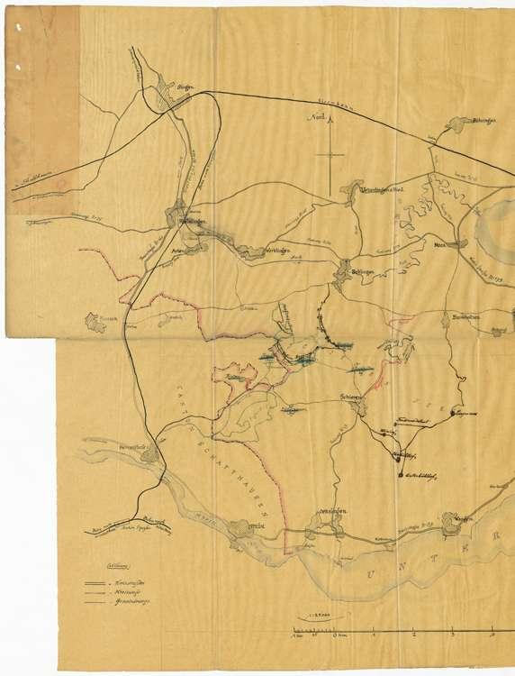Benützung des Hagenbuchwegs in Öhningen über Schienen, Bankholzen und Moos, Bild 1