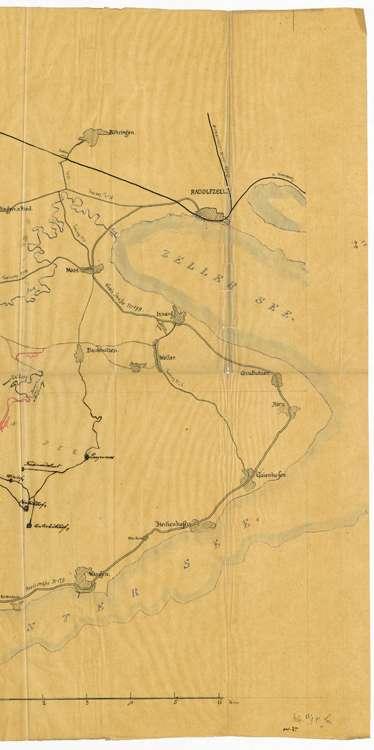 Benützung des Hagenbuchwegs in Öhningen über Schienen, Bankholzen und Moos, Bild 2
