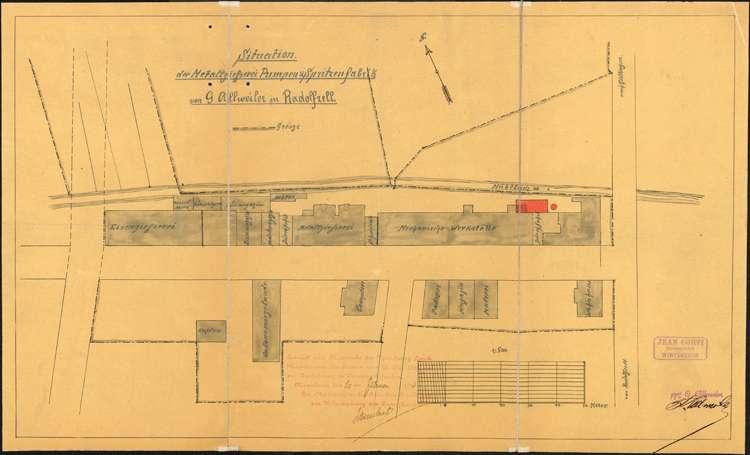 Genehmigung von Dampfkesselanlagen für Gotthard Allweiler in Radolfzell, Bild 2