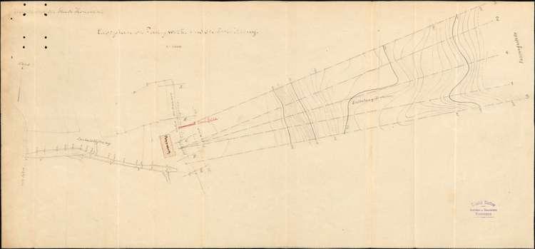 Erstellung eines provisorischen Steges im Bodensee bei Allmannsdorf-Staad durch Heinrich Blattner in Konstanz, Bild 1