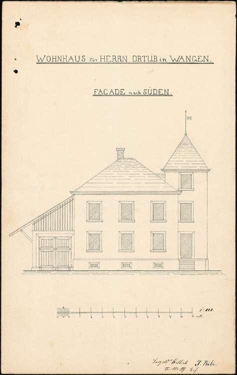 Baugesuche bzw. Baubewilligungen in Wangen, Bild 1