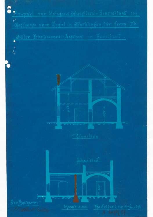 Gesuch der Firma Mattes & Müller in Radolfzell um Genehmigung zur Errichtung einer Schlächterei in Worblingen, Bild 3