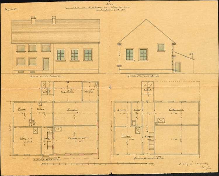 Erbauung und Unterhaltung des Schulhauses zu Litzelstetten, Bild 2