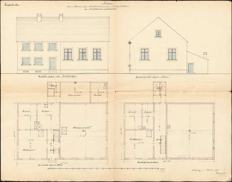 Erbauung und Unterhaltung des Schulhauses zu Litzelstetten, Bild 3