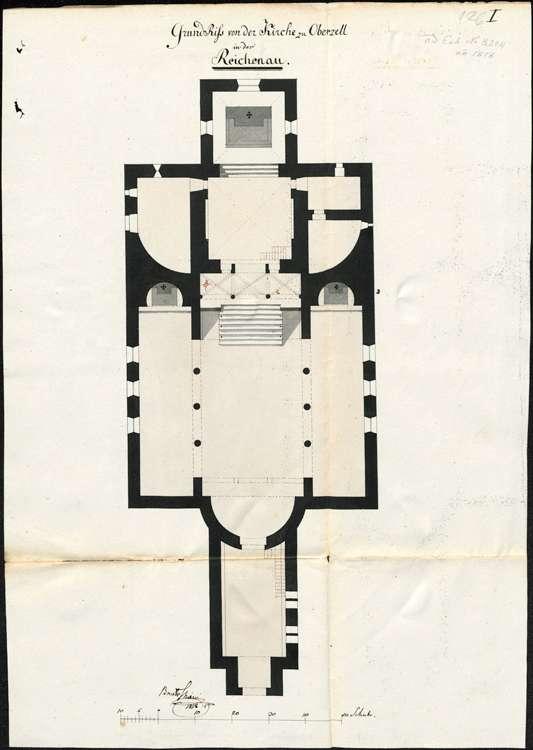 Erbauung und Unterhaltung der Kirche, des Pfarr- und des Mesnerhauses in Reichenau-Oberzell, Bild 1