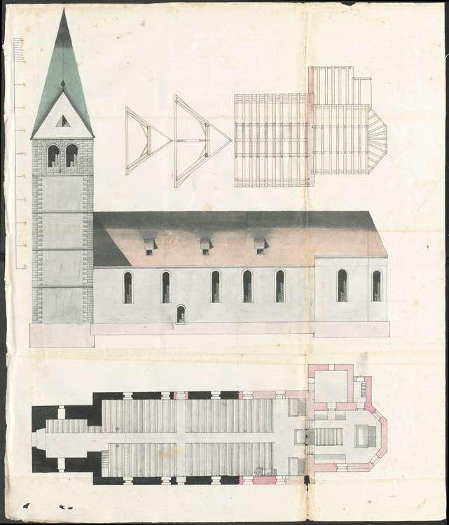 Bau und Unterhaltung der Kirche und des Pfarrhauses zu Wollmatingen, Bild 2