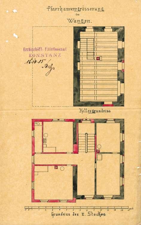 Unterhaltung und Umbau des Pfarrhaus in Wangen, Bild 2