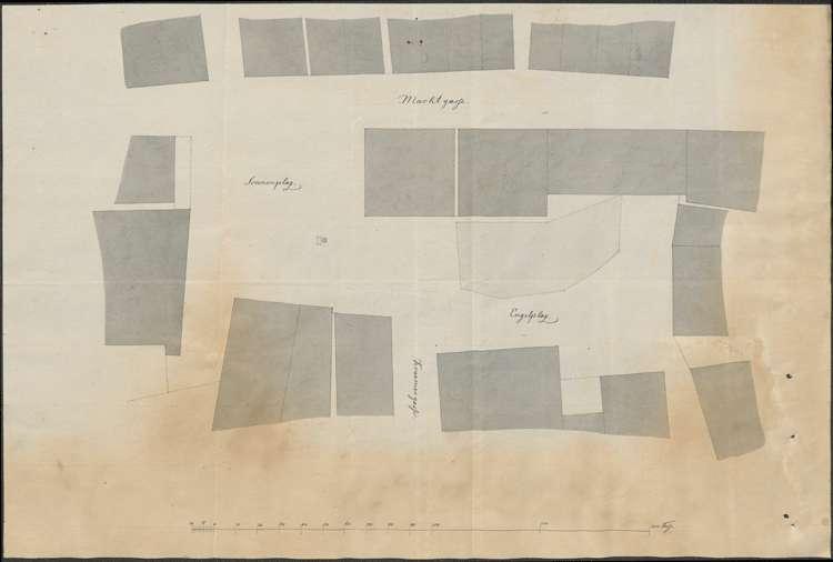 Ankauf des Engelplatzes durch die Stadt Lahr zur Erweiterung des Marktplatzes, Bild 1
