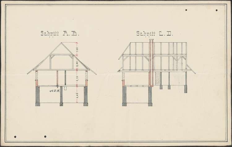 Bauliche Unterhaltung des Krankenschwesternhauses der Gemeinde Prinzbach, Bild 3