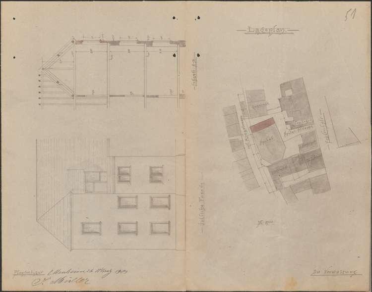 Erweiterung des Krankenhauses in Ettenheim sowie dessen Visitation, Bild 1