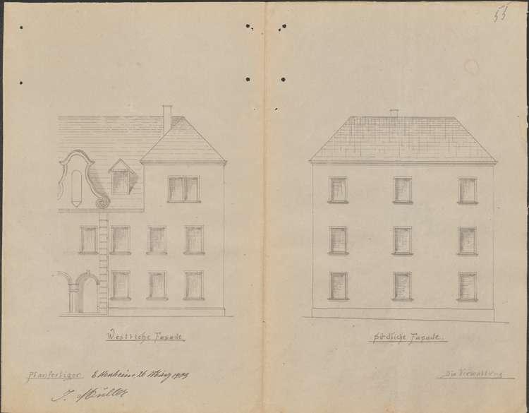 Erweiterung des Krankenhauses in Ettenheim sowie dessen Visitation, Bild 2