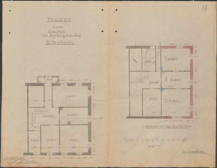 Erweiterung des Krankenhauses in Ettenheim sowie dessen Visitation, Bild 3